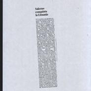 08/11/2012 La Città: Salerno conquista la Lituania