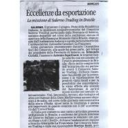 05/05/2011 La Città: Eccellenza da esportazione