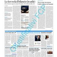 02/10/2014 Il Sole 24 ore: Al via l'ottava edizione del Workshop Internazionale