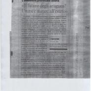 30/10/2009 Corriere del Mezzogiorno:L'Assessore Andria: