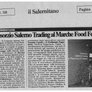20/06/2009 Il Salernitano: Il Consorzio Salerno Trading al Marche Food Festival