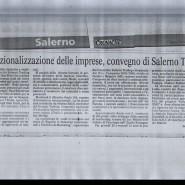 22/03/2009 Cronache del Mezzogiorno: Internalizzazione delle imprese, convegno di Salerno Trading