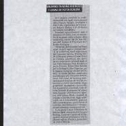 02/04/2008 Cronache del Mezzogiorno: Salerno Trading riunisce i legali di tutta Europa