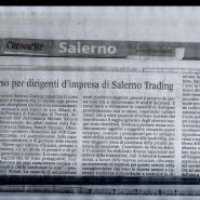 05/04/2008 Cronache del Mezzogiorno: Corso per dirigenti d'impresa di Salerno Trading
