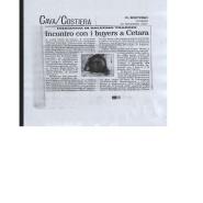 30/11/2007 La Città: Cava/Costiera Incontro con i buyers a Cetara