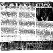02/02/2007 Cronache del Mezzogiorno: Salerno Trading all'Exporsudhotel di Napoli