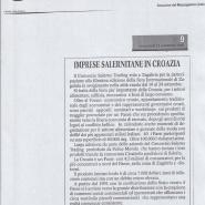 13/09/2006 Cronache del Mezzogiorno: Imprese Salernitana in Croazia