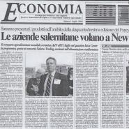 01/07/2006 Il Salernitana: Le aziende salernitana volanmo a New York