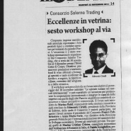 22/11/2011 Il Denaro: Eccellenze in Vetrina: sesto workshop al via