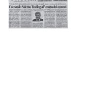 16/03/2006 Il Salernitano: Consorzio Salerno Trading all'assalto dei mercati