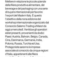 Il Mattino di Salerno 8 nov. 2014